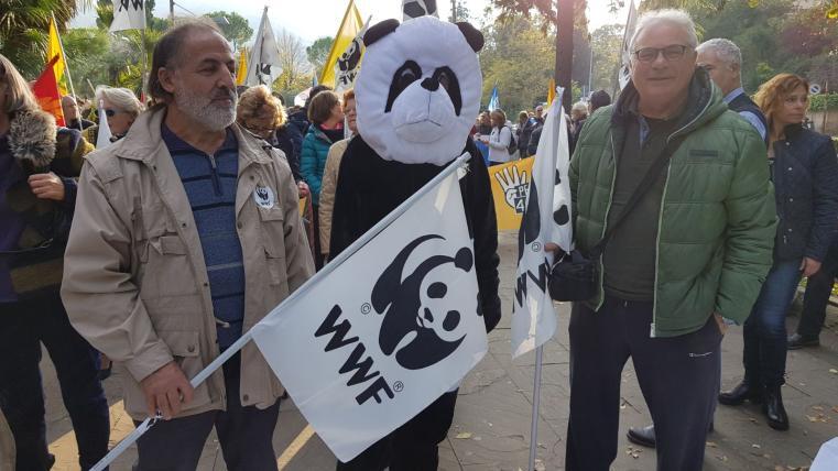 Il WWF alla manifestazione
