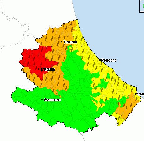 Fate attenzione gioved 25 maggio previste tempeste d for Volantino acqua e sapone l aquila