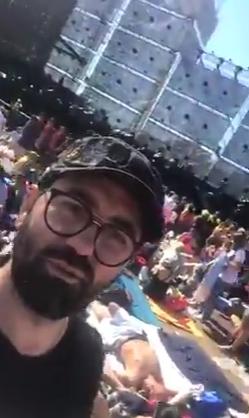 Video: In diretta da Modena il concerto di Vasco con tanti teramani